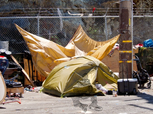 Tent City, San Francisco 9