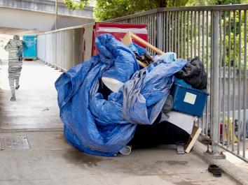 Tent City, San Francisco 49